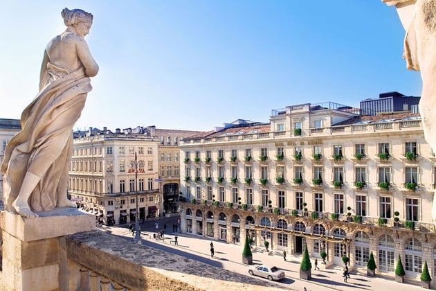 The intercontinental grand hotel of Bordeaux which will be use for the NEEVA User's Club 2019