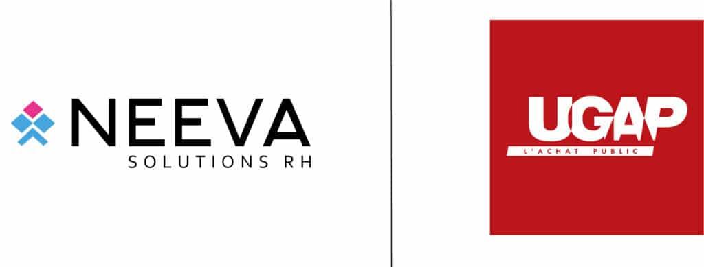 image contenant les logos de UGAP et de l'éditeur de logiciels NEEVA