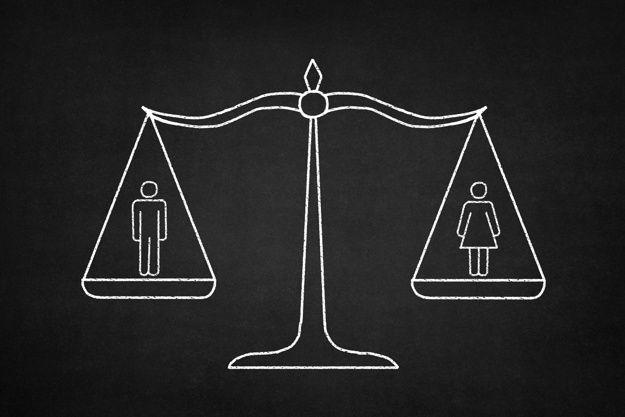 balance égalité hommes femmes