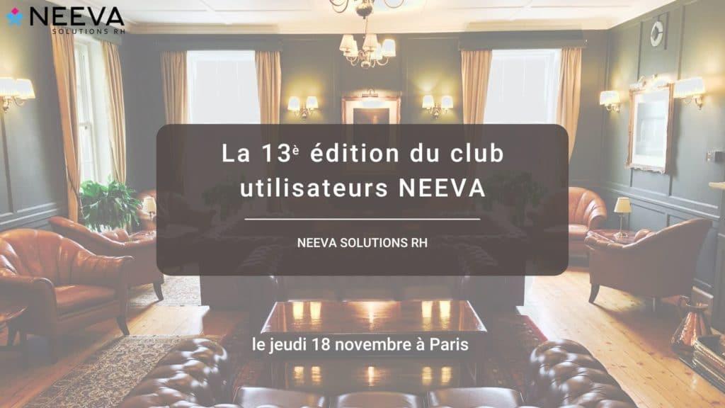 Club utilisateur NEEVA 2021